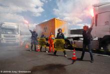 [ACTION] Des convois radioactifs «relookés»