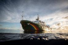 L'Esperanza de retour sur le Récif de l'Amazone