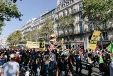Des marches à l'ONU : le mouvement climat gêne E. Macron