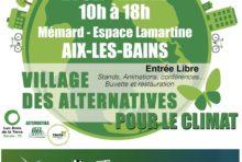 21 septembre : Village des Alternatives à Aix-les-Bains