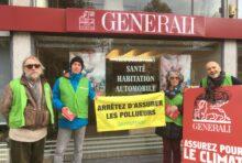 «Assurez pour le Climat !» – Action contre Generali