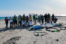 Ramassage des déchets sur la plage