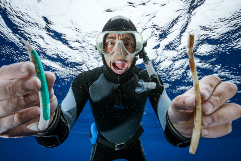 Plastic Found in the Great Pacific Garbage Patch.