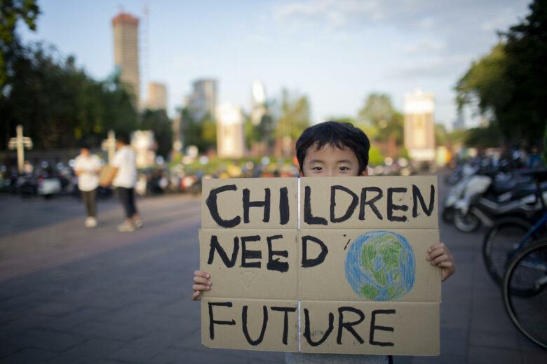 Global Climate Strike in Bangkok.