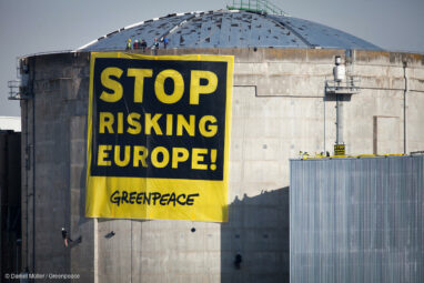 Fessenheim Greenpeace