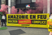 Mobilisation contre les incendies en Amazonie