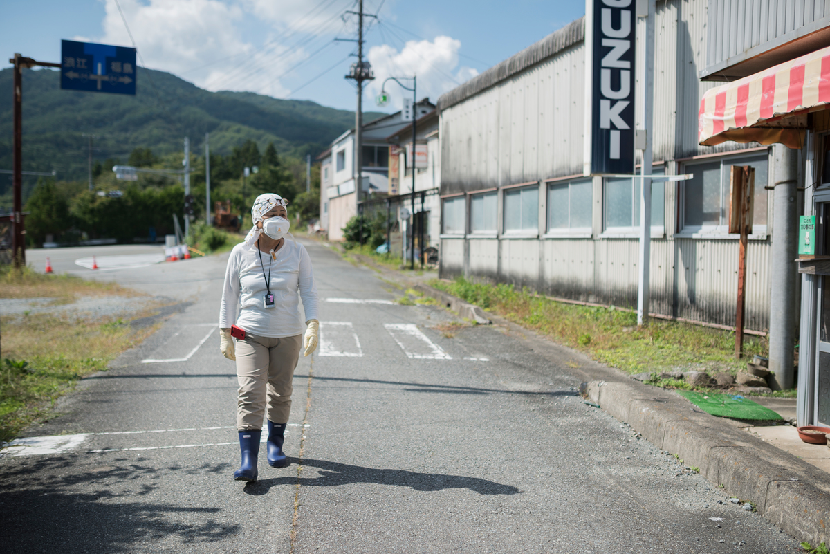 Mizue Kanno, victime de Fukushima-Daiichi © Christian Åslund