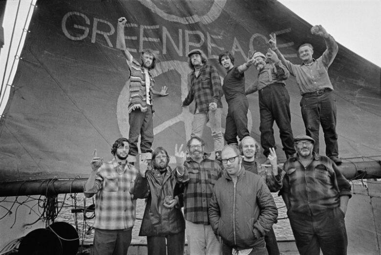 Équipage de Greenpeace - Amchitka : 1971